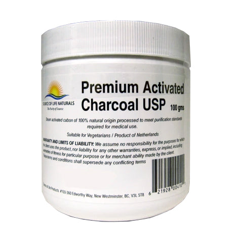 Source of Life - Premium Activated Charcoal USP