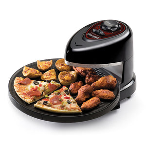 PRESTO Pizzazz Plus in use several kinds of food