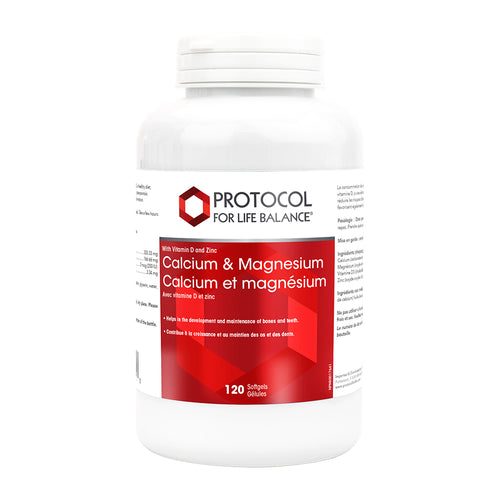 Protocol - Calcium & Magnesium (with Vitamin D & Zinc)