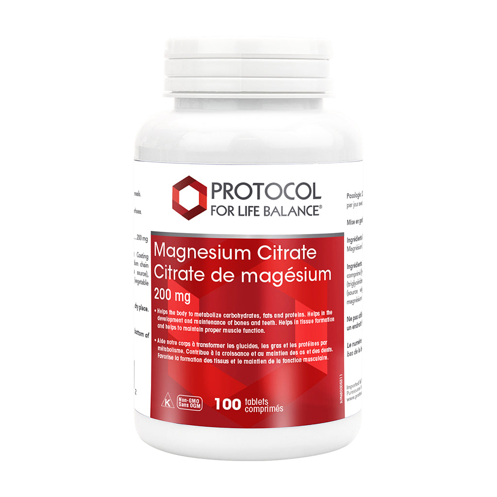 Protocol - Magnesium Citrate Tablets (200 mg)
