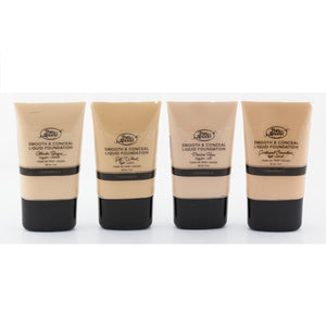 4 tubes of Pure Anada Smooth and Conceal Liquid Foundations