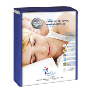 PureCare - 5-Sided Mattress Protector with Anti-Bacterial Silver Ions
