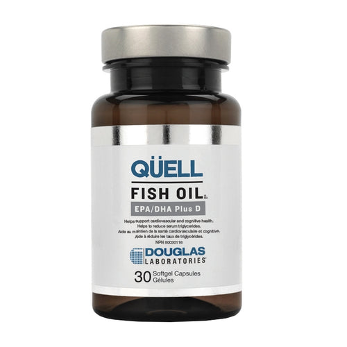 Douglas Labs Quell Fish Oil EPA/DHA Plus D
