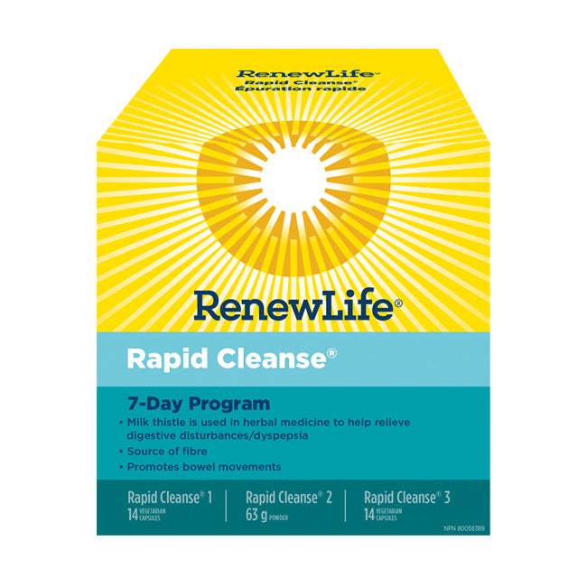 Renew Life - Rapid Cleanse (7 Day Total Body Cleanse)