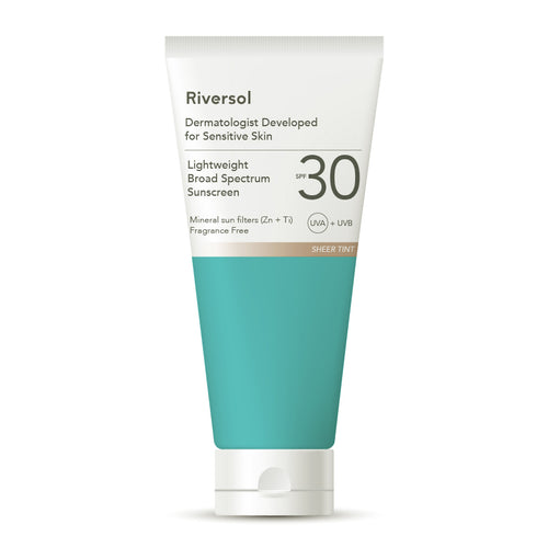 Riversol - Lightweight Broad Spectrum Sunscreen (SPF 30)