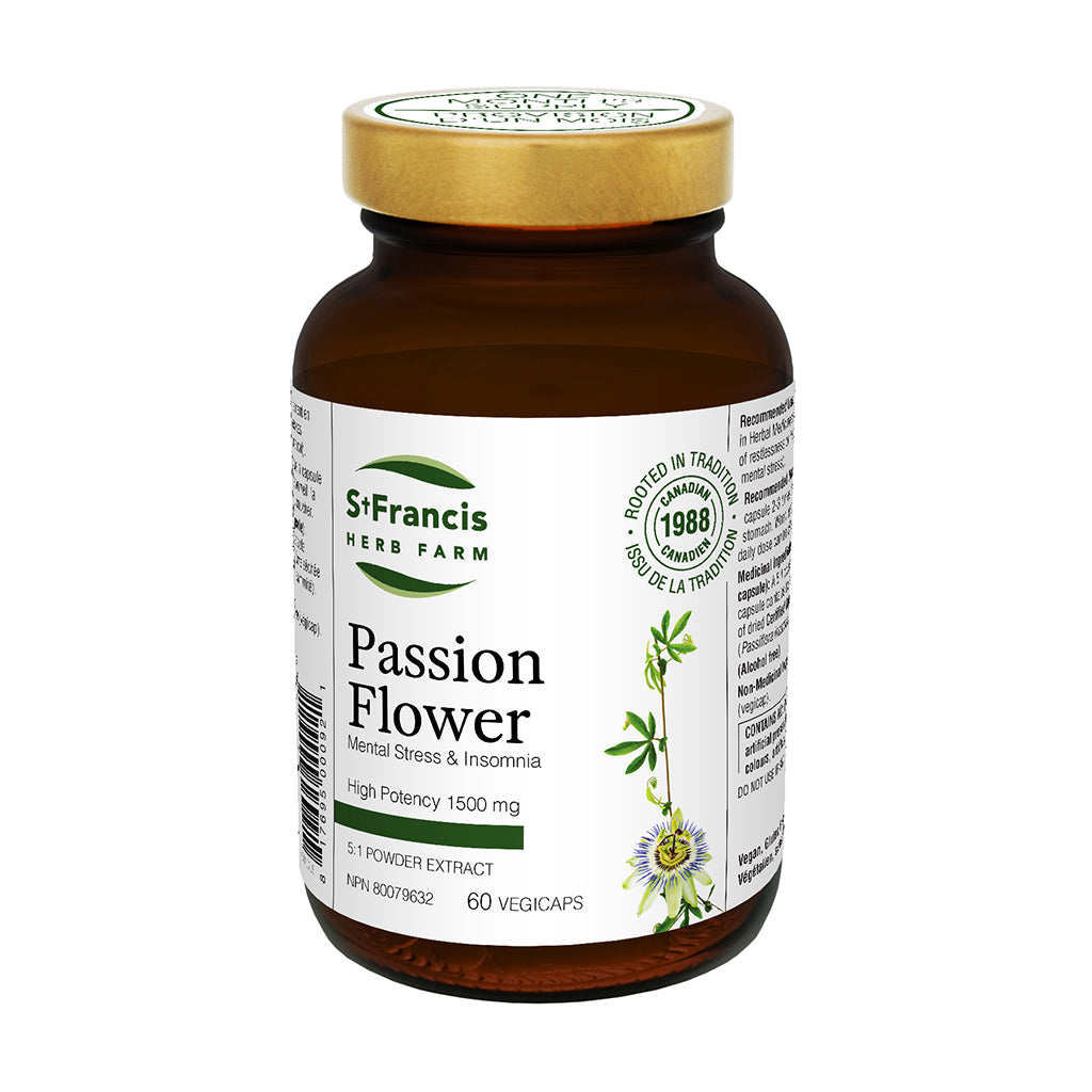 St. Francis Herb Farm - Passion Flower Capsules