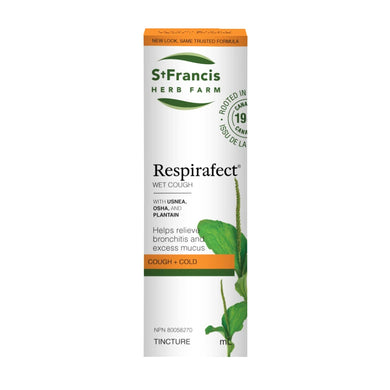 St. Francis Herb Farm - Respirafect (For Lung Infections)