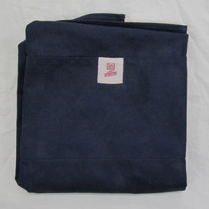 Sebastien & Groome Authentique Adjustable Apron, in navy (shown folded)