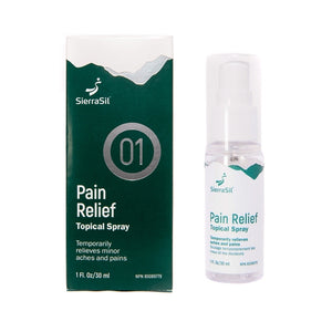 SierraSil - Pain Relief Topical Spray
