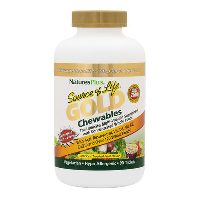 Nature's Plus - Source of Life Gold Chewables