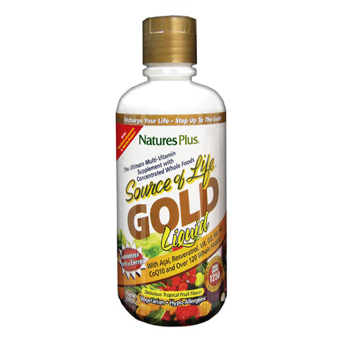 Nature's Plus - Source of Life Gold Tablets or Liquid