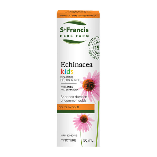 St. Francis Herb Farm Echinacea Kids, 50 ml bottle