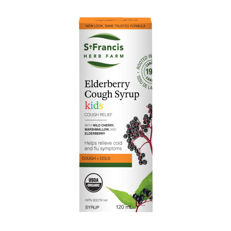 St. Francis Herb Farm - Elderberry Cough Syrup for Kids
