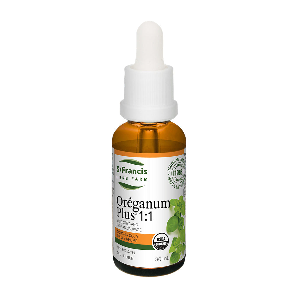 St. Francis Herb Farm - Oreganum Plus 1:1 - Wild Oregano Oil
