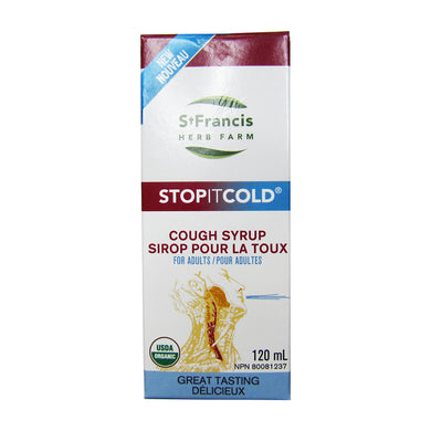 St. Francis Herb Farm - Stop It Cold Cough Syrup for Adults