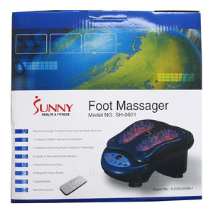 Sunny Health & Fitness Foot Massager box (front)