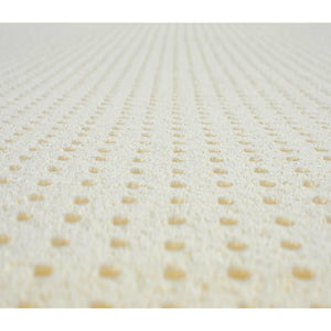 Close-up of the surface of a Nature's Embrace Certified Organic Mattress