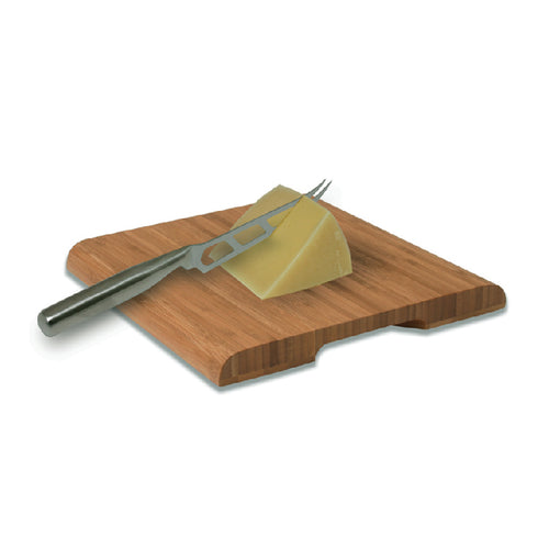 Swissmar - Bamboo Cutting Board with Cheese Knife