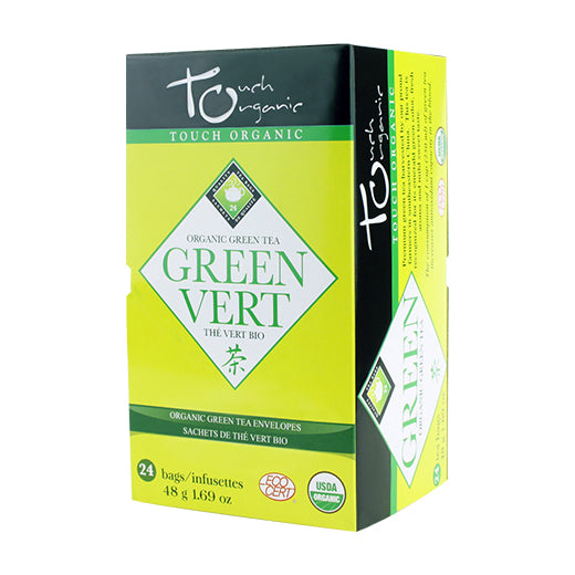 Touch Organic Green Tea Bags, box of 24