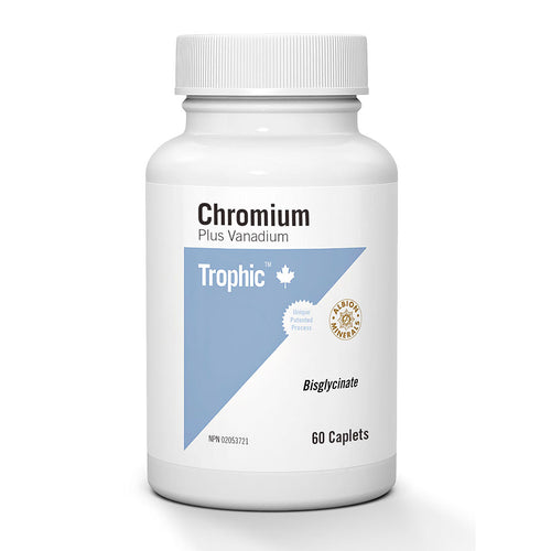 Trophic Chromium Plus Vanadium, 60 caplets
