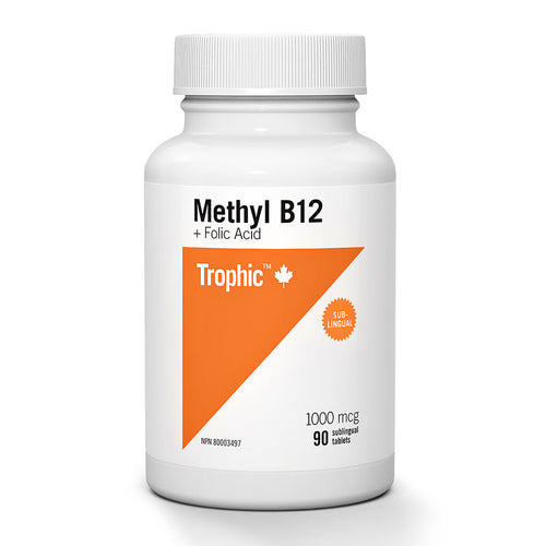 Trophic - Methyl Vitamin B12 + Folic Acid
