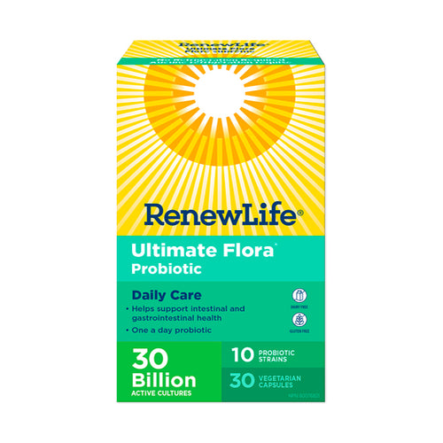 Renew Life Ultimate Flora Daily Care, 30 Capsules