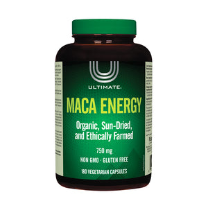 Ultimate Maca Energy, 180 capsule bottle