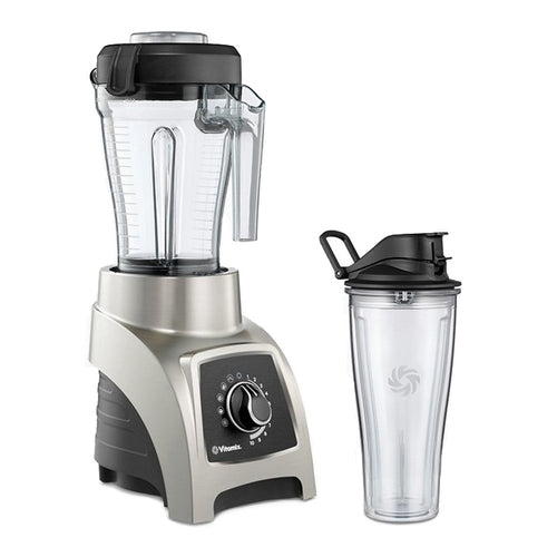 Vitamix S55 Personal Blender and its two containers
