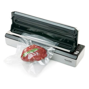 SousVide Supreme Deluxe Vacuum Sealer with top opened