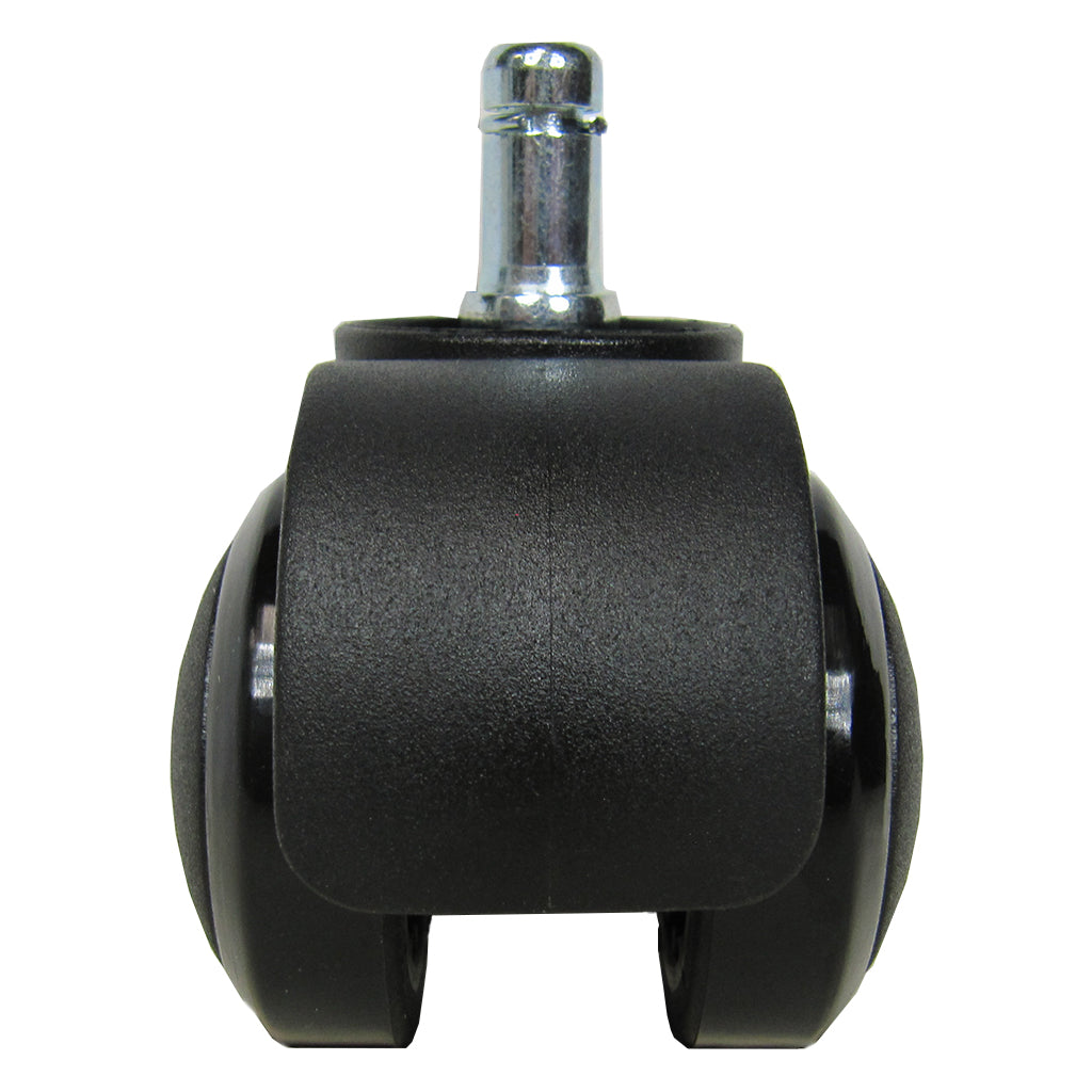 front view of weight-activated locking wheel which fits Swopper Classic