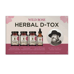 Wild Rose Herbal D-Tox box