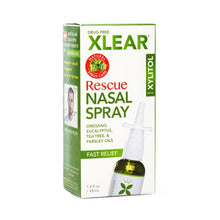 Xlear Rescue Nasal Spray, 45 ml Bottle
