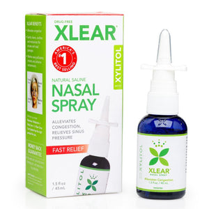 Xlear Nasal Spray, 45 ml Mist Bottle