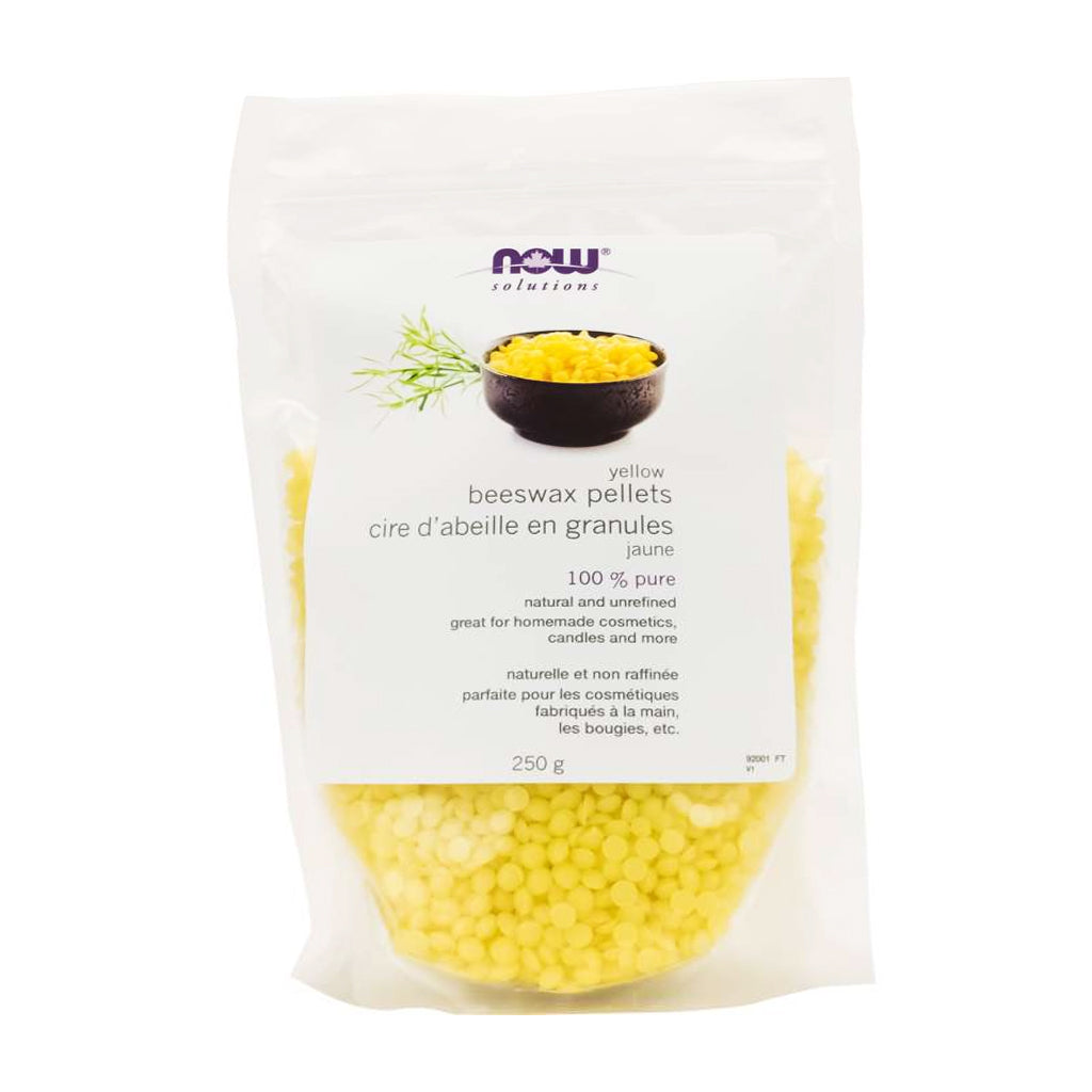 NOW - 100% Pure Natural Beeswax Pellets