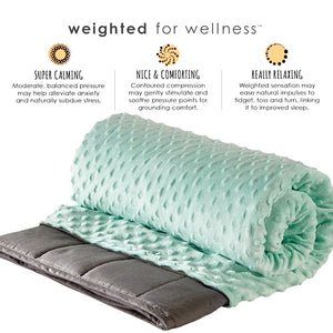 Benefits of Zensory Kids Weighted Blanket with Duvet