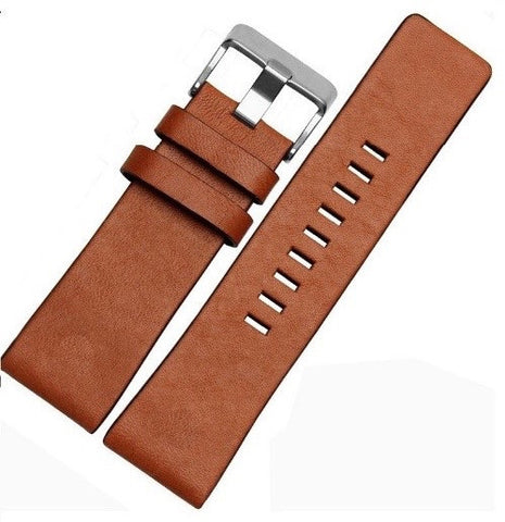 Light Brown Genuine Leather Band - Smart Hour