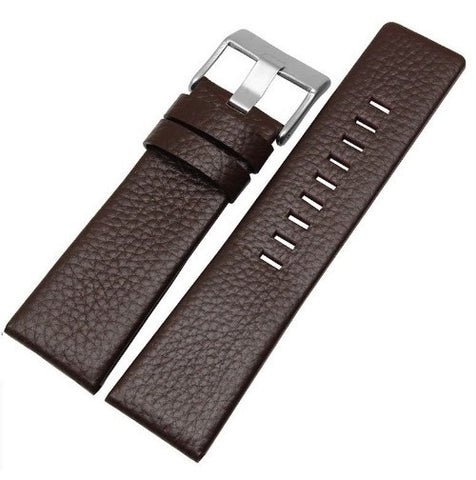 Dark Brown Genuine Leather Band - Smart Hour