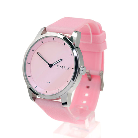 Pink Smartwatch - Shiny - Smart Hour