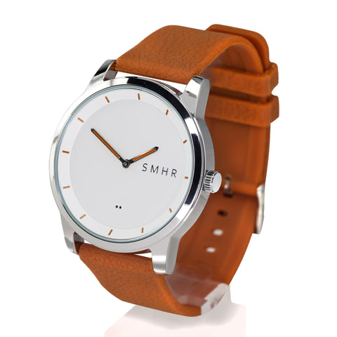 Brown Smartwatch - Shiny - Smart Hour