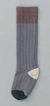 Knee-High Socks color block