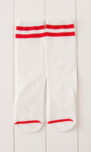 Striped baseball socks