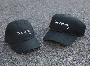 Baby and mommy dad hats.