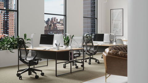 LUX LED Lighting Brooklyn AC with Vacancy Sensor Workspace