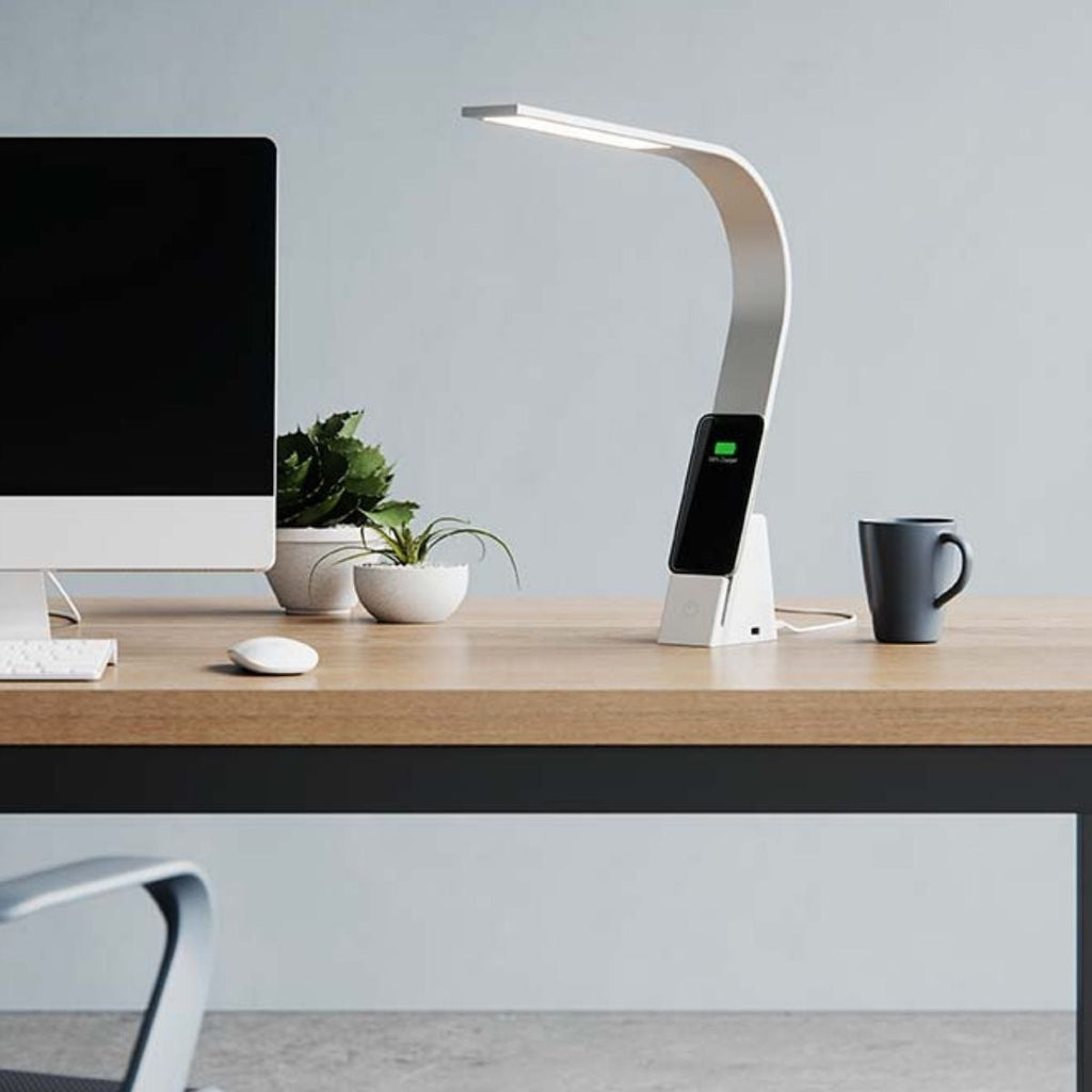 LUX LED Desk Lamp - The Brooklyn Aura