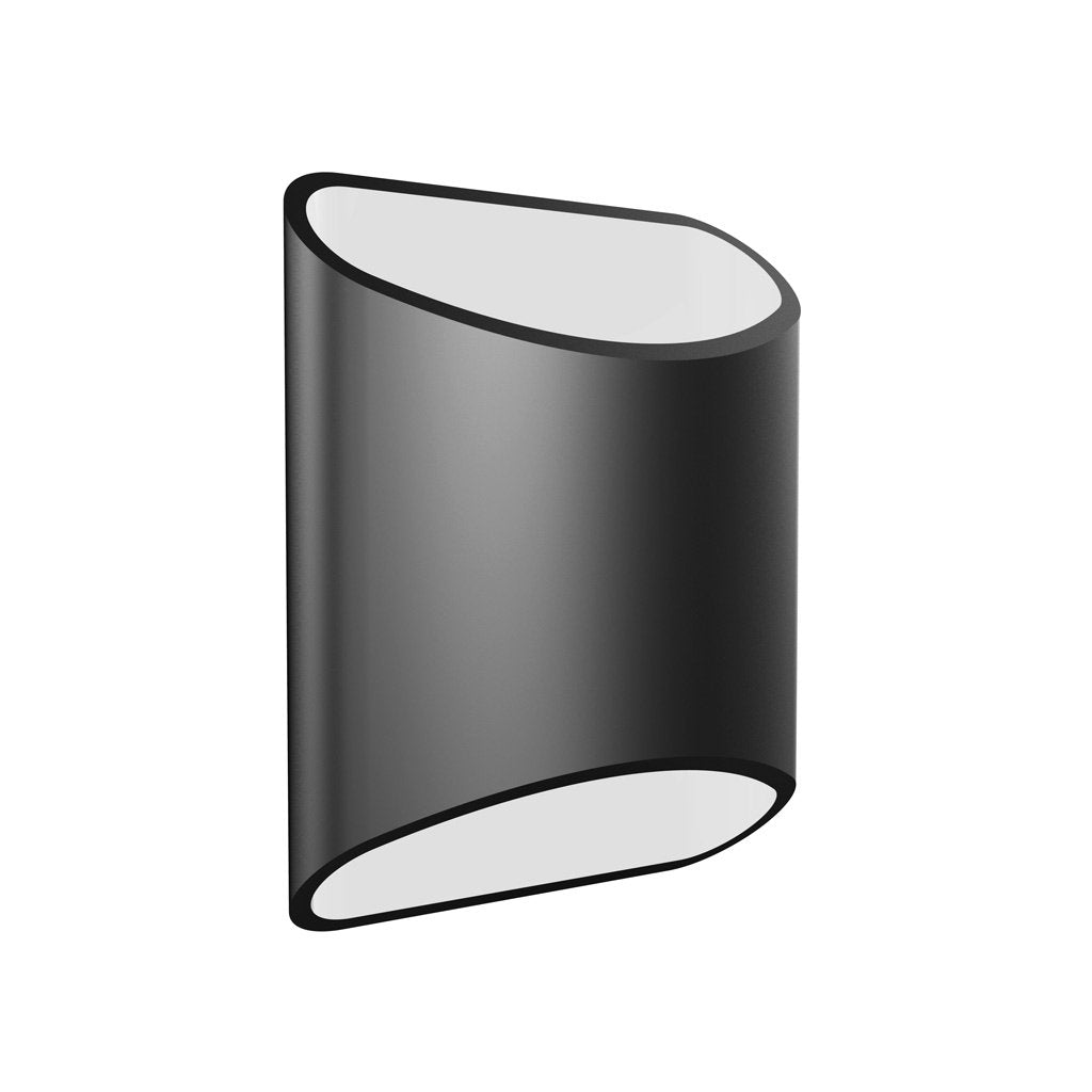Brooklyn LED Wall Sconce in Black Slate by LUX LED Lighting