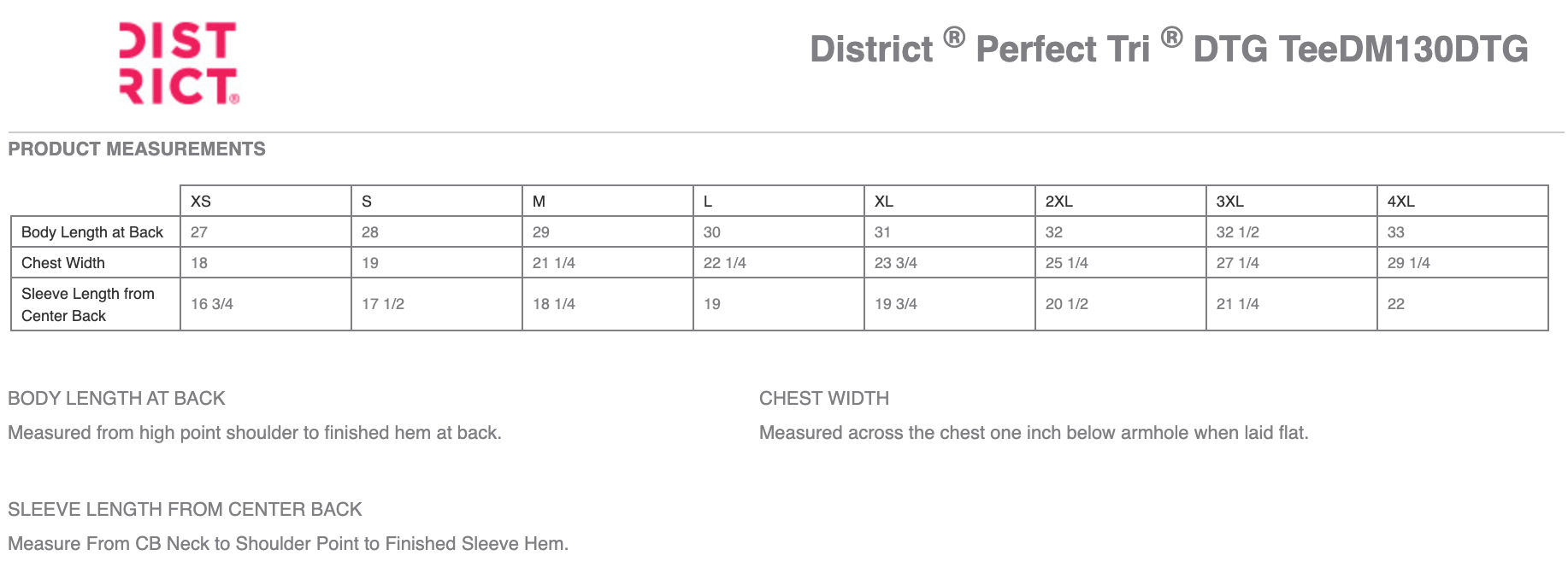 District Perfect Tri