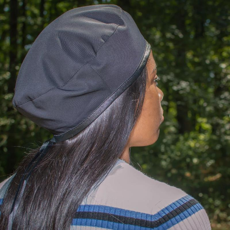 Lightweight Satin Lined Beret Hat - Always Eleven