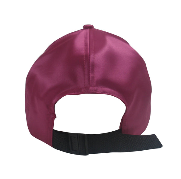 a99a1bd6c7e Satin Baseball Hat with Satin Lining – Always Eleven