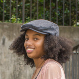 Fashionable Newsboy Hat with Satin Lining - Always Eleven