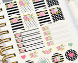 Pretty Floral Stickers - Notes & Clips